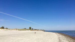 Strand zu Zeiten des Lockdown